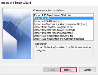 PST Export 2