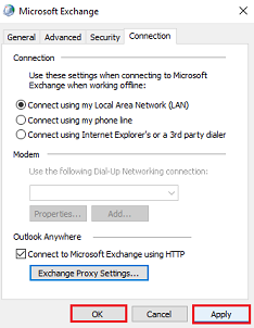 MS Exchange Manual Setup 6
