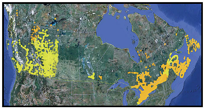 canadian coverage map