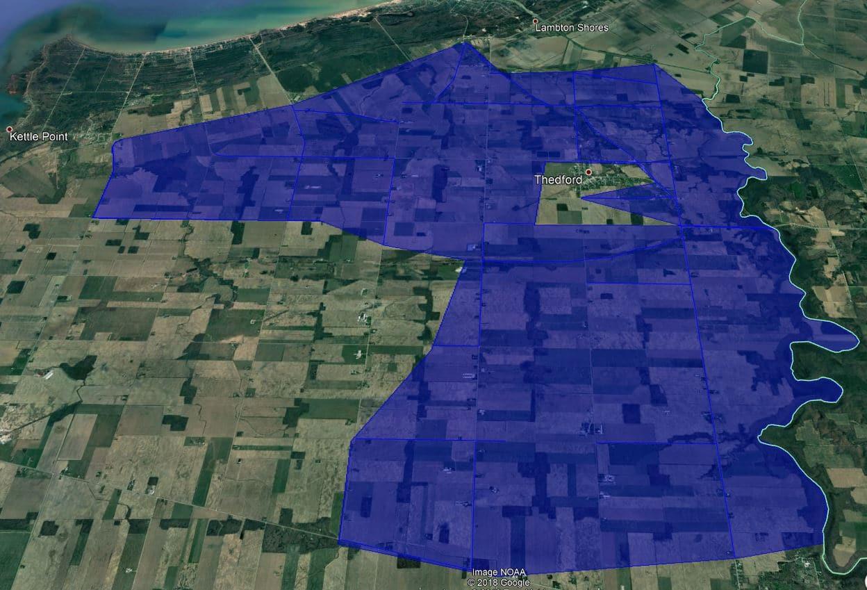 Rural Bosanquet Fibre Build Area