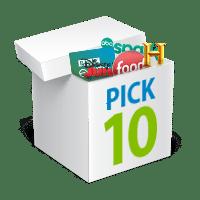 pick 10 box